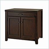 Kathy Ireland Home by Martin Furniture Tribeca Loft Cherry Door Base with Drawer