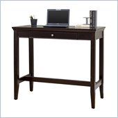 Martin Furniture Fulton Office 48 Standing Height Writing Desk in Rich Espresso