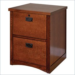 Martin Furniture Mission Pasadena 2 Drawer File Cabinet in Mission