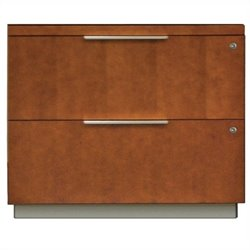 Kathy Ireland Home by Martin Monterey Lateral File in Toasted Almond