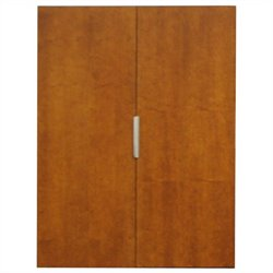 Kathy Ireland Home by Martin Monterey Wardrobe in Toasted Almond