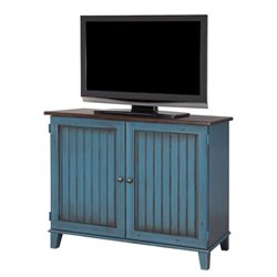 Martin Furniture Ellington Storage Console in Blue