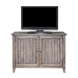 Martin Furniture Harmon Storage Console in Weathered Greige