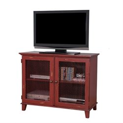 Martin Furniture Sorrento Storage Console in Red