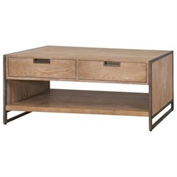 Martin Furniture Belmont Coffee Table in Brushed Ash