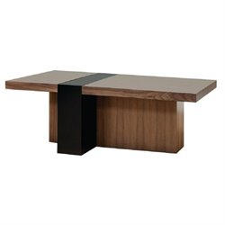 Martin Furniture Stratus Coffee Table in Chestnut