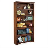 Kathy Ireland Home by Martin Furniture Mission Pasadena 6 Shelf Open Wood Bookcase