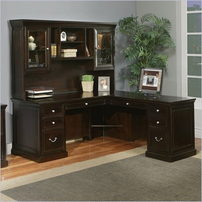 Kathy Ireland By Martin Fulton Office L-Shaped Executive Desk