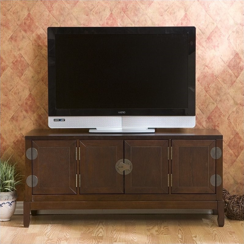 Lockborne Media Cabinet in Rich Espresso