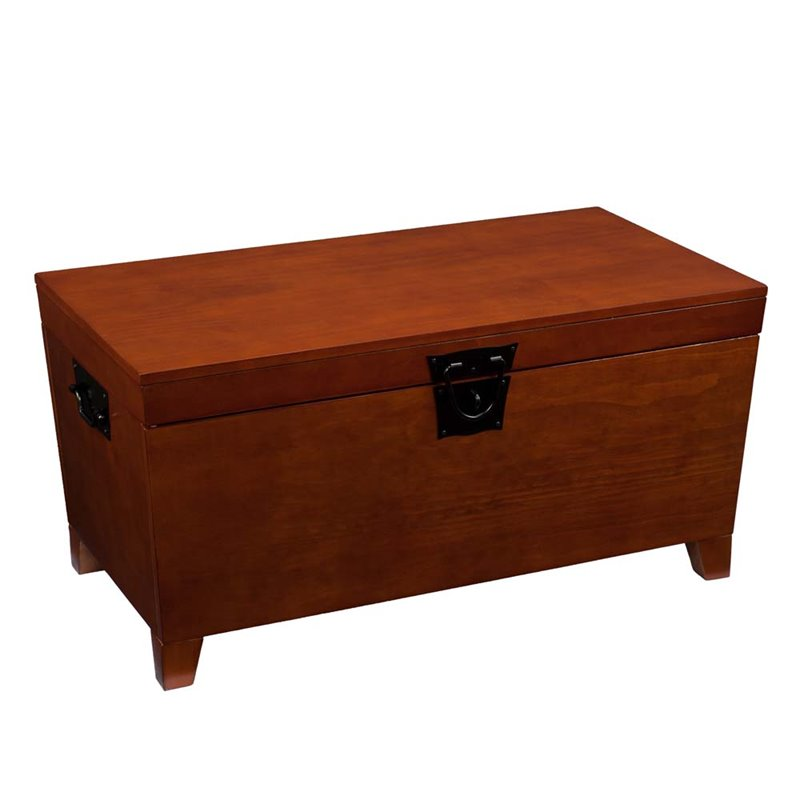 Southern Enterprises Pyramid Lift Top Wood Coffee Table