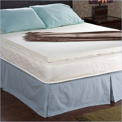Southern Enterprises Enhance Memory Foam King Size 2 Inch Topper