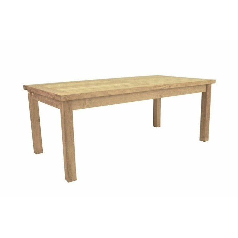 Anderson Teak Bahama Outdoor Coffee Table in Natural