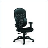 Global Tye High Back Tilter Chair in Jenny Ebony