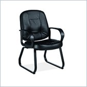 Global Arno Guest Armchair in Mock Leather Chair