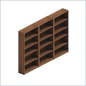 Global Total Office Adaptabilities Wall Bookcase in Avant Honey