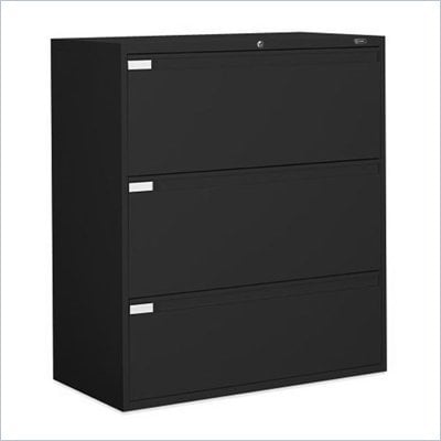 Global Office 9300P 3 Drawer Lateral Metal File Storage Cabinet