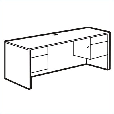 Global Adaptabilities Kneespace Credenza