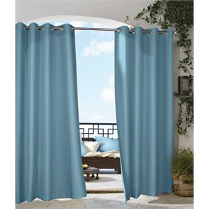 "Commonwealth Outdoor Decor Gazebo 84"" Grommet Curtain Pan..."
