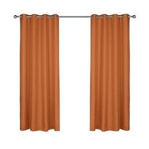 "Commonwealth Outdoor Decor Gazebo 96"" Grommet Curtain Pan..."