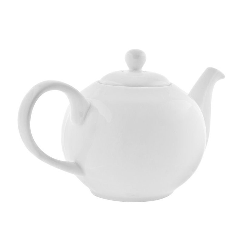 10 Strawberry Street Royal White Teapot in White RW0014