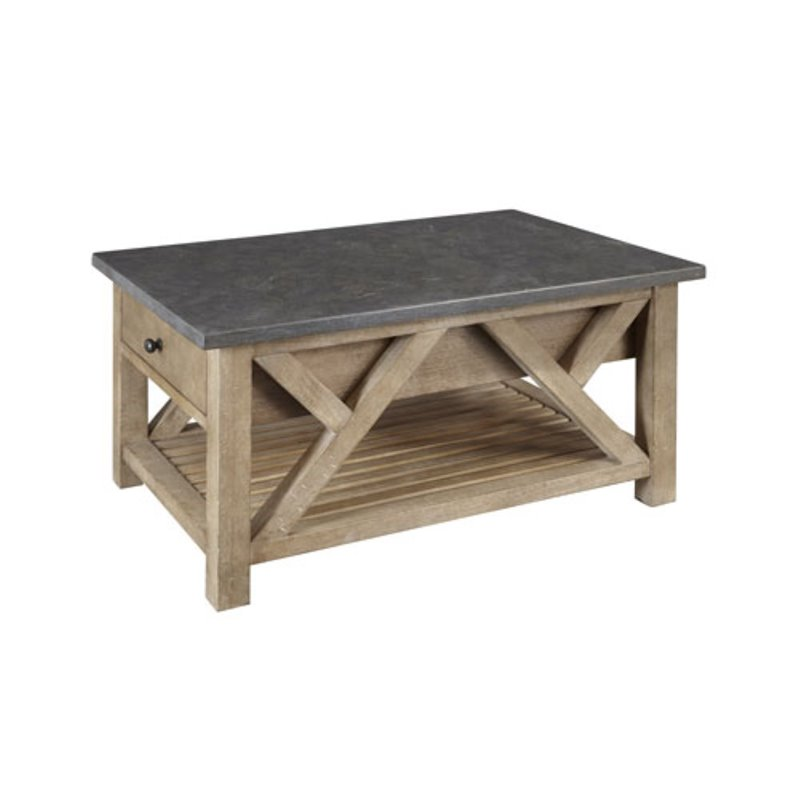 A-America West Valley Coffee Table in Rustic Wheat