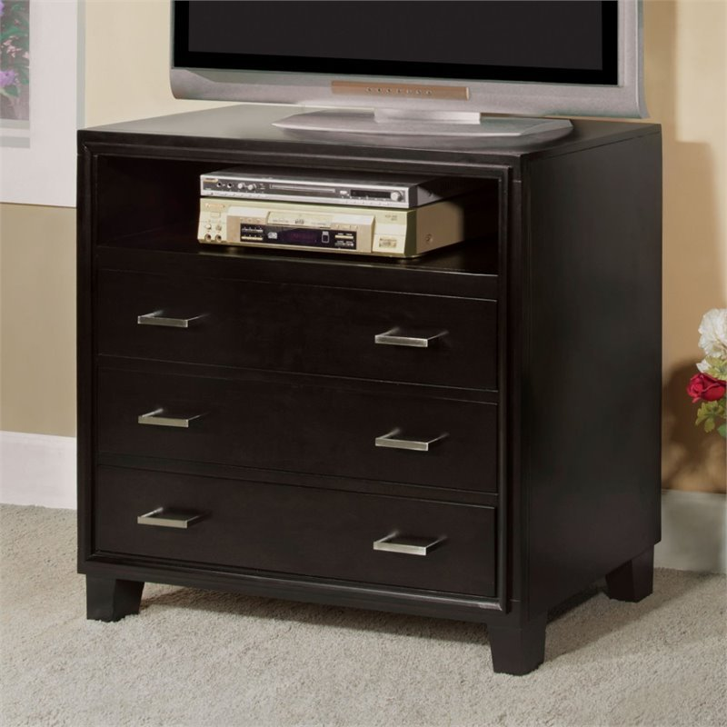 Furniture of America Muscett 36 TV Stand in Espresso