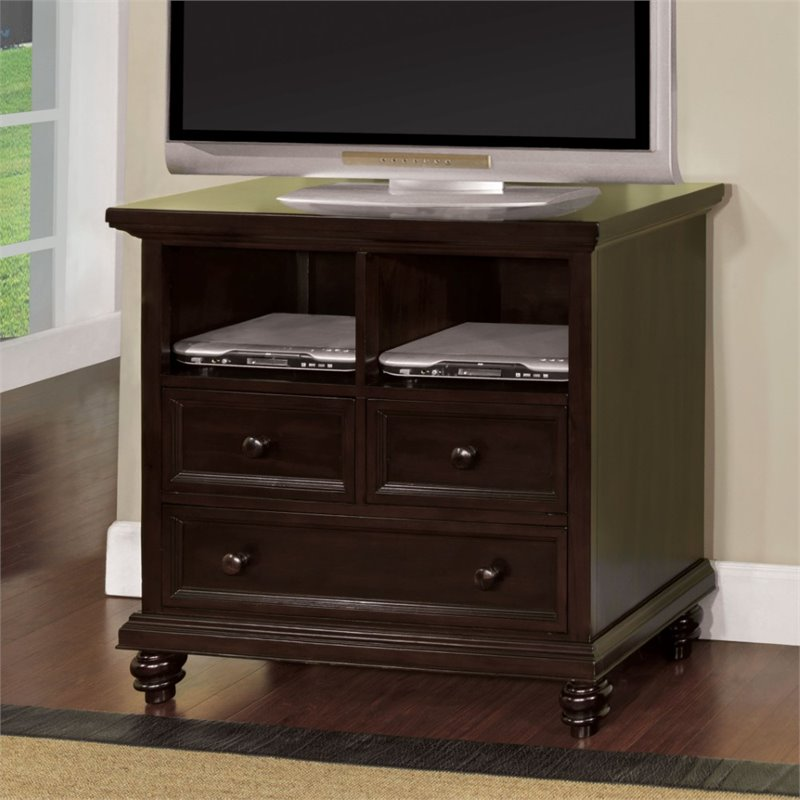 Furniture of America Klinnet Bedroom 40 TV Stand in Espresso