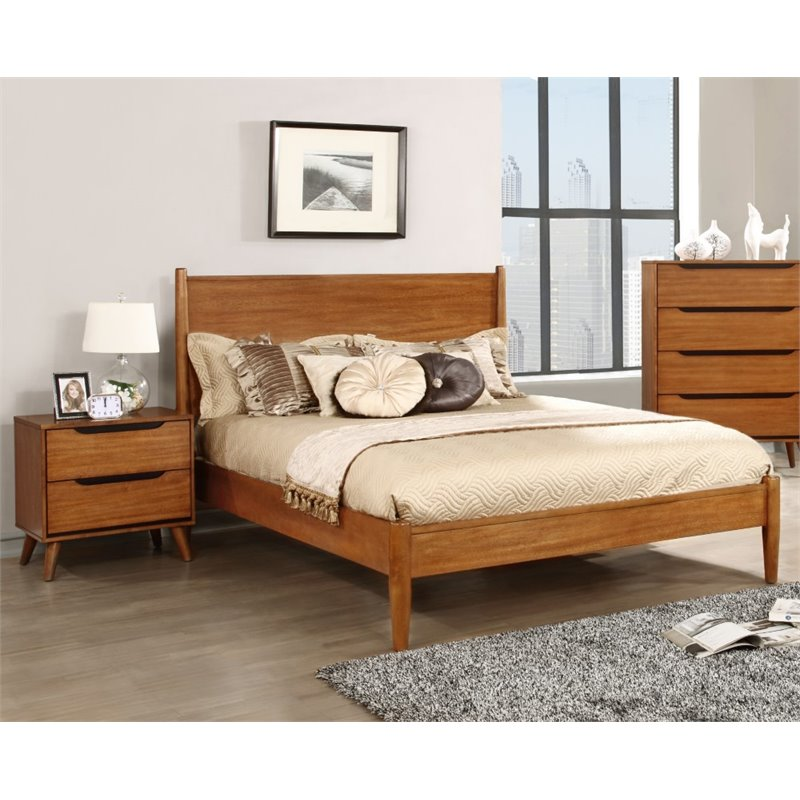 Furniture of America Anisa 2 Piece Panel California King  Bedroom Set