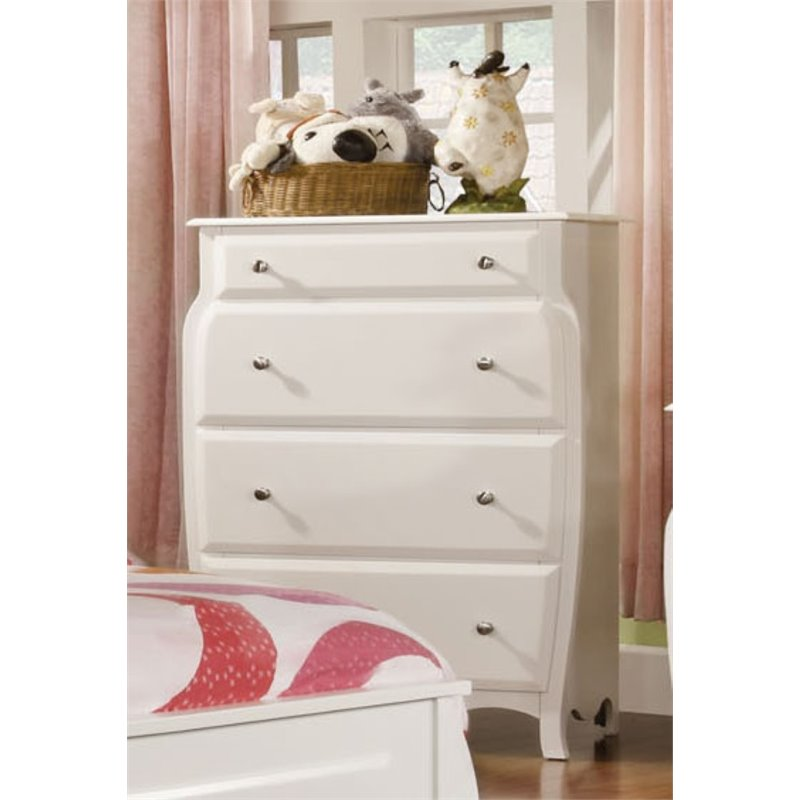 Furniture of America Palon 4 Drawer Chest in White