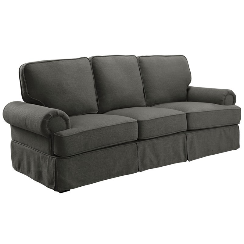 Furniture of America Onrei Sofa in Gray