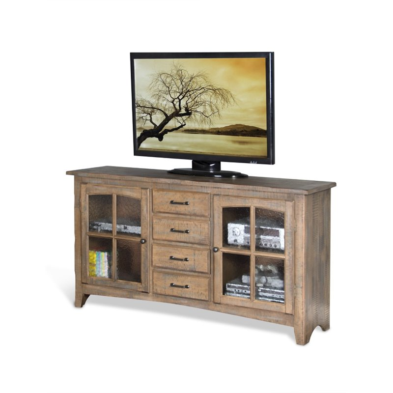 Sunny Designs 64 TV Stand in Driftwood