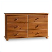 South Shore Sand Castle Sunny Pine Double Dresser