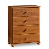 South Shore Sand Castle Kids 4 Drawer Chest in Sunny Pine Finish