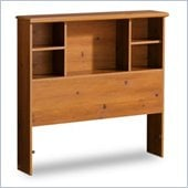 South Shore Sand Castle Sunny Pine Twin Bookcase Headboard
