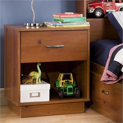 South Shore Logik Sunny Pine Night Table