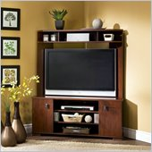 South Shore Vertex Cherry Corner TV Stand