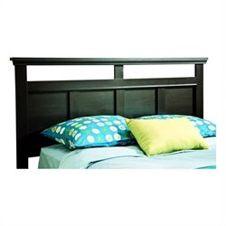 South Shore Versa Full/Queen Headboard in Black Finish
