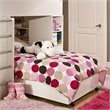 ADD TO YOUR SET: South Shore Logik Lower Loft Bunk Twin Bed Frame Only in Pure White Finish