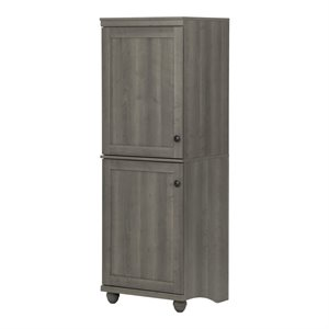 South Shore Hopedale Storage Cabinet in Gray Maple