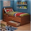 ADD TO YOUR SET: South Shore Imagine Kids Twin Captain's Bed in Morgan Cherry Finish