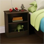 South Shore Libra Kids Nightstand in Chocolate
