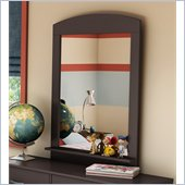 South Shore Logik Vertical Mirror in Chocolate Finish
