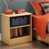 South Shore Libra Kids Nightstand in Natural Maple