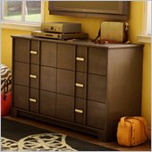 South Shore Terra Dresser in Chocolate Finish