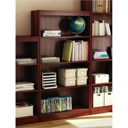 South Shore 4 Shelf Bookcase in Royal Cherry