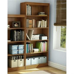 South Shore 5 Shelf Bookcase in Morgan Cherry