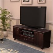South Shore Dover 60 TV Stand in Dark Mahogany