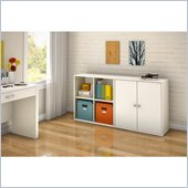 South Shore Stor It 2 Piece Storage Unit in Pure White