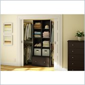 South Shore Stor It 3 Piece Storage Unit in Chocolate