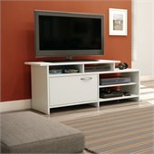 South Shore Maddox Collection TV Stand in Pure White